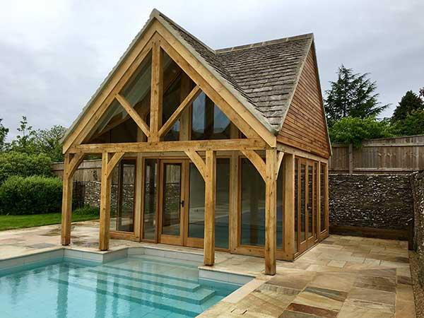 Green Oak Pool House